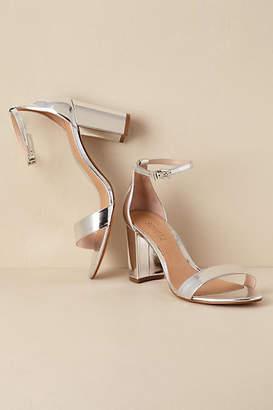 cf6805121fc Silver Block Heel Shoe - ShopStyle