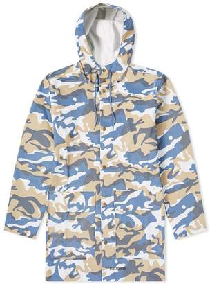 Stutterheim Stockholm Denim Camo Raincoat