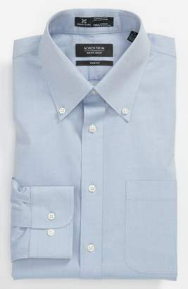 Nordstrom Smartcare(TM) Trim Fit Solid Dress Shirt