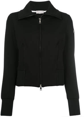 Moncler poli stretch zipped cardigan