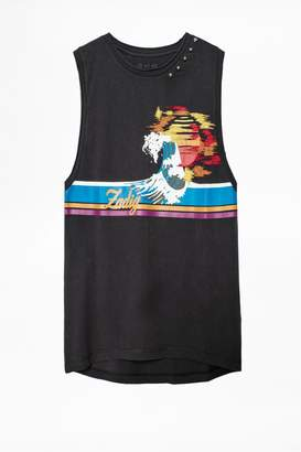 Zadig & Voltaire Moly Print Tank Top