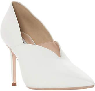 Dune Becket High Vamp Court Shoes