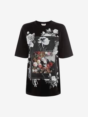 Alexander McQueen Floral Album T-Shirt