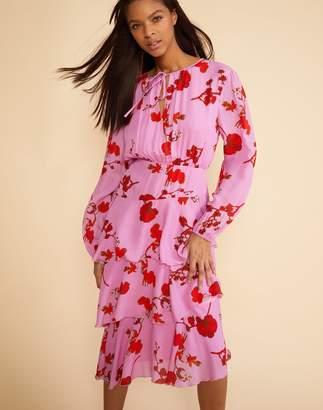 Cynthia Rowley Zuma Asymmetrical Midi Dress