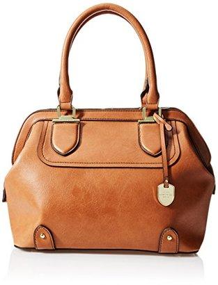 London Fog Kensington Satchel Framed Bag $150 thestylecure.com