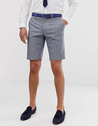 ONLY & SONS checked suit shorts