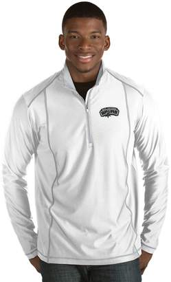Antigua Men's San Antonio Spurs Tempo Quarter-Zip Pullover