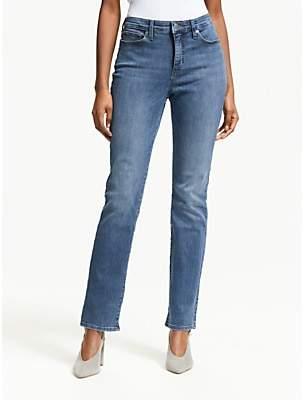 Ralph Lauren Slim Straight Leg Stretch Jeans, Harbor Wash Denim
