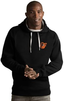Antigua Men's Baltimore Orioles Victory Pullover Hoodie