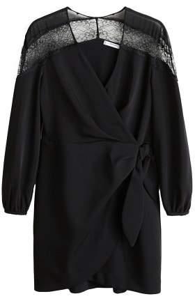 Lace v-neckline dress