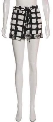 Proenza Schouler Mini Wrap Skirt