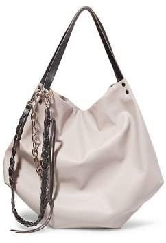 Steve Madden Chain-Trim Hobo Bag