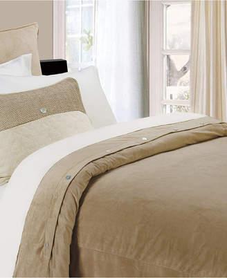 Hiend Accents Fairfield King Velvet Duvet Cover Bedding