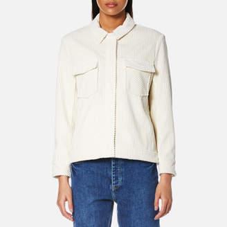 Samsoe & Samsoe Women's Kealey Jacket Clear Cream