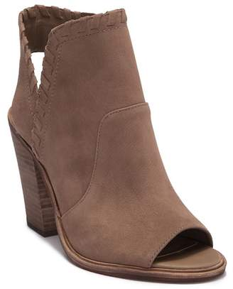 Vince Camuto Kicetta Peep Toe Leather Bootie