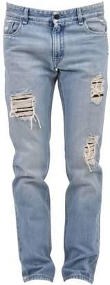 Fendi Destroyed Blue Jean