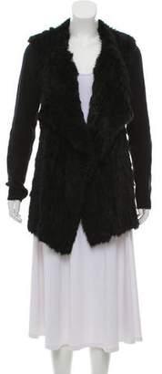 Diane von Furstenberg Fur Short Coat