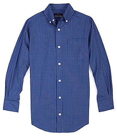 Class Club 8-20 Multi-Checked Sportshirt