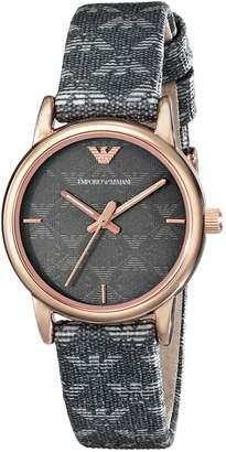 Emporio Armani Women's AR1837 Classic Analog Display Analog Quartz Grey Watch