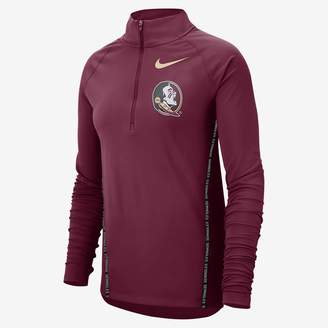 Nike Women's Half-Zip Long Sleeve Top College (Texas)