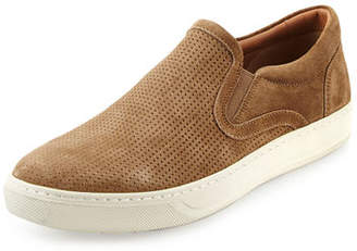 Vince Ace Perforated Suede Skate Sneaker