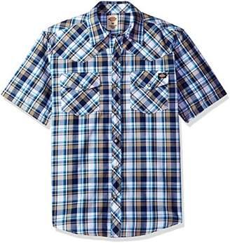 Dickies Men's Short Sleeve Western Shirt