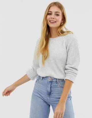 JDY Charming fluffy knit jumper