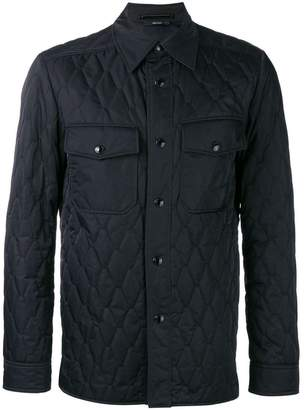 Tom Ford quilted shirt jacket