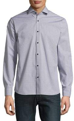 Black & Brown Black Brown Gingham Button-Down Shirt
