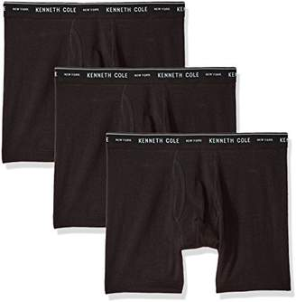 Kenneth Cole New York Men's Novelty 3 Pack Boxer Brief
