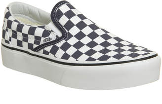 at Office · Vans Classic Slip On Platform Trainers a97edfbb3