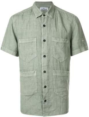 Stone Island four pocket shirt