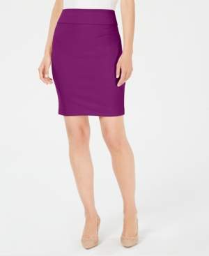 Alfani Petite Crepe Pencil Skirt, Created for Macy's