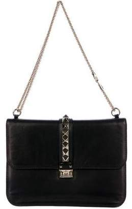 Valentino Large Glam Rock Flap Shoulder Bag