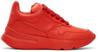 Alexander McQueen Red Runner Sneakers
