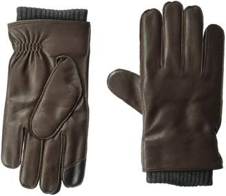 Tommy Hilfiger Unisex Winter Glove With Knit Elastic