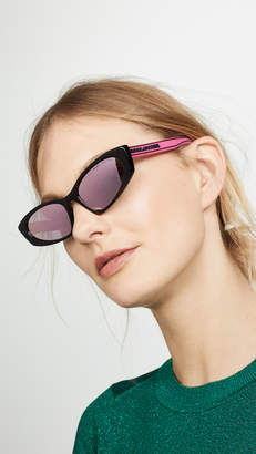 Marc Jacobs Sporty Narrow Sunglasses