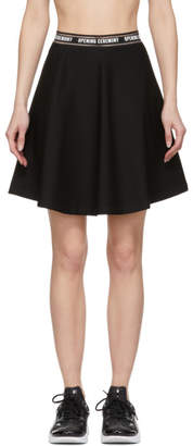 Opening Ceremony Black Torch Flare Miniskirt