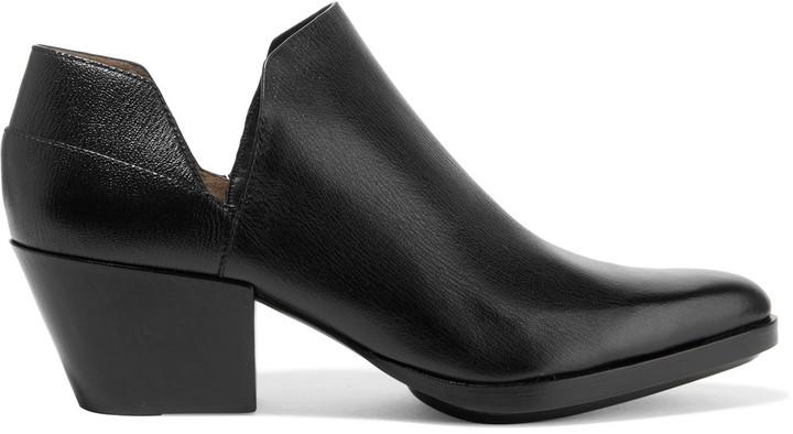 3.1 Phillip Lim3.1 Phillip Lim Dolores cutout textured-leather ankle boots