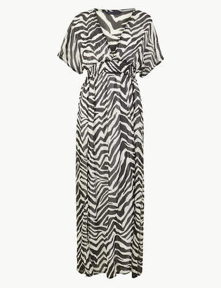 Marks and Spencer Zebra Print Maxi Beach Dress