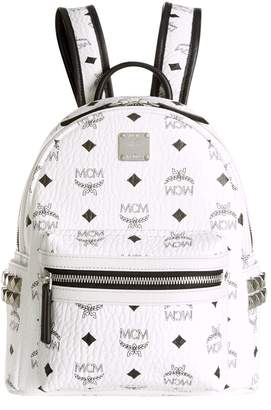 MCM Mini Stark Studded Backpack
