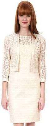 Kay Unger - Vintage Lace Jacket in Cream Multi $250 thestylecure.com