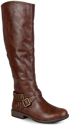 Journee Collection April Wide Calf Riding Boot - Women's