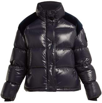 Moncler 2 1952 - Chouette Quilted Down Jacket - Womens - Navy