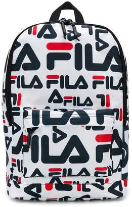 Fila all-over logo backpack