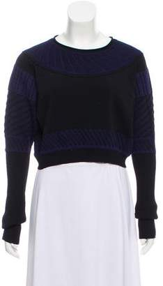 Ohne Titel Cropped Long Sleeve Sweater