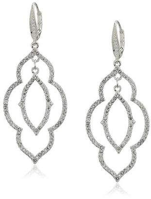Anne Klein Women's Orbital Double Drop Earrings