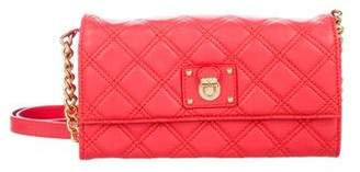 Marc Jacobs Quilted Leather Flap Crossbody Bag
