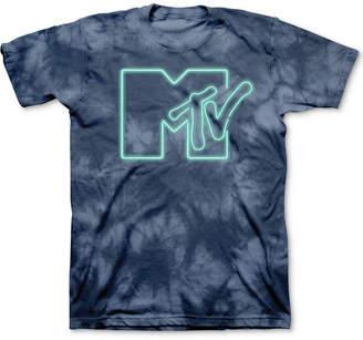 Freeze 24-7 Mtv Tie-Dyed Logo Men Graphic T-Shirt