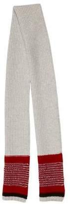 Drakes Drake's Striped Wool Scarf